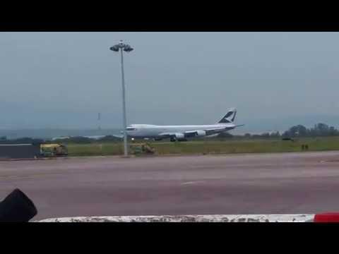 Take Off Cathay Pacific Cargo | Aeropuerto de Guadalajara