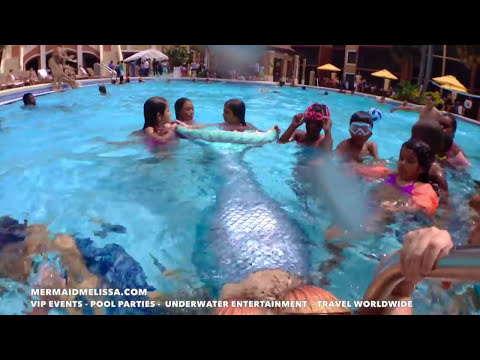 Swim with Mermaid Melissa!
