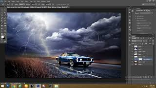 Photoshop Tutorial -  Rain Effect - Photoshop Manipulation