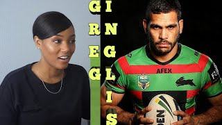 Clueless new American  rugby  Fan Reacts to Greg Inglis Highlights