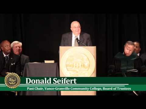 Guilford Technical Community College | President's Installation part II
