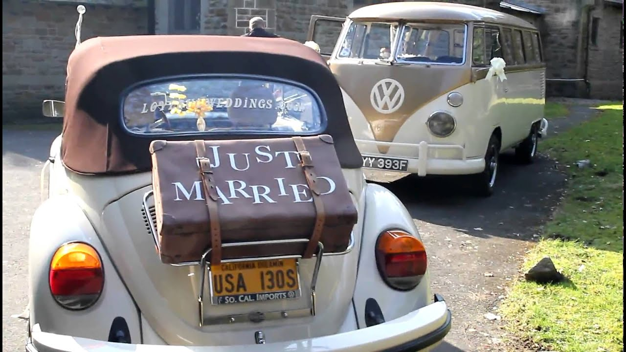 Beetle hire for wedding