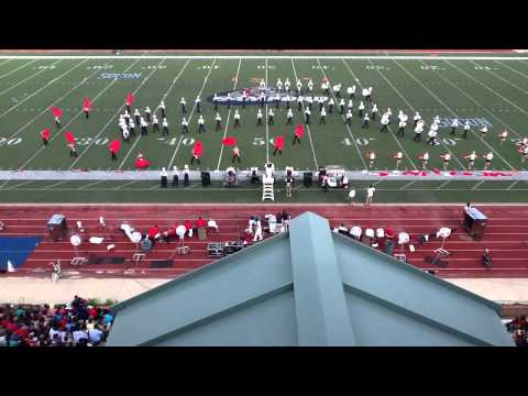 Samford University Marching Band (Oct. 13, 2012)