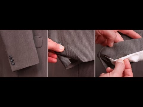 Suit or Jacket Alteration Shortening Sleeve with Mitered Corner Vent - Introduction (FREE SAMPLE)