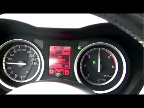 Alfa Romeo 159 1.9 JTDm 150KM Automat. prezentacja i przyspieszenie