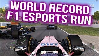 WORLD RECORD F1 Esports Run - Spain (89:49.745)