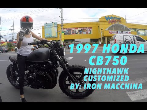 1997 Honda CB750 Nighthawk : Garage Visits : Iron Macchina Customs