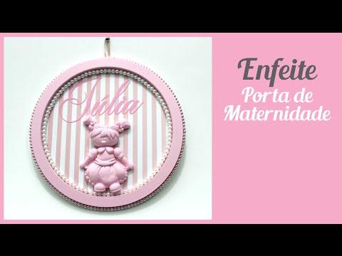 Enfeite Porta Maternidade Julia