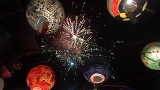 台南府城普濟殿燈節&春節煙火( 2018 Tainan Pu Ji Temple Lantern Festival & Chinese New Year Firework)
