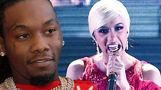 Offset Regrets Apologizing To Cardi B On Stage | Hollywoodlife