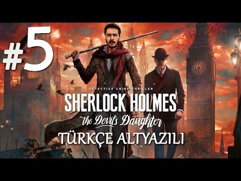 LANET Mİ ? CİNAYET Mİ ? | Sherlock Holmes The Devil's Daughter Türkçe Altyazılı Bölüm 5