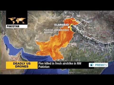 Five People Killed By Fresh U.S. Drone Attack In Pakistan