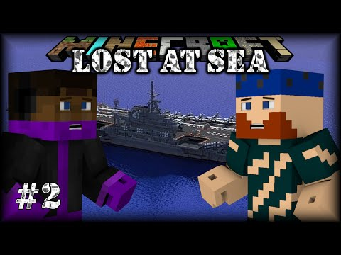 Minecraft | Lost at Sea | #2 BLOODMOON RISING