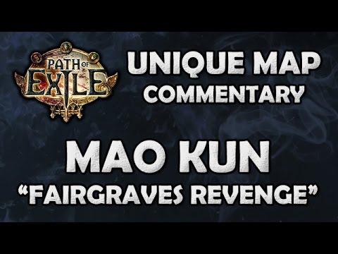 Path of Exile: MAO KUN Unique Reef Map - Beyond League (Hardcore)