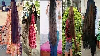 TikTok Long Hair Girls | TikTok Prensenting Very Beautiful Long Hair Goals |