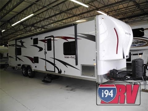 2014 Work & Play 30WLA Toy Hauler Travel Trailer