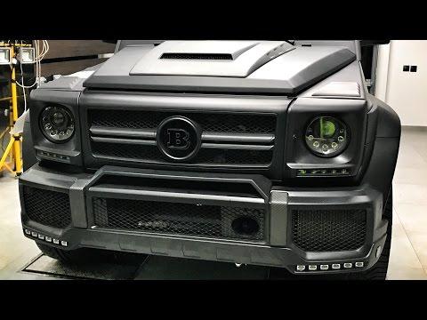 BRABUS G 63 с сиденьями от S-Class! Проект Гелик 850 сил и сейф + Audi RS3 и 220i. Казань - часть I