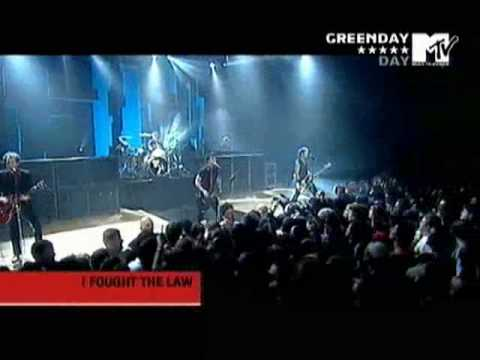 Green Day I Fought The Law LIVE AT ITALY