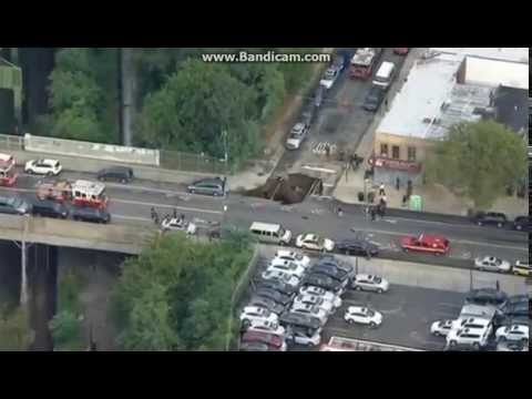 """Massive Sinkhole In Brooklyn, New York""#breaking news#"
