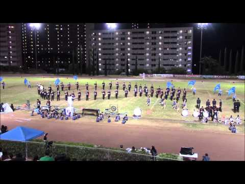 Iolani School Marching Band at Moanalua Menehune Classic 2013