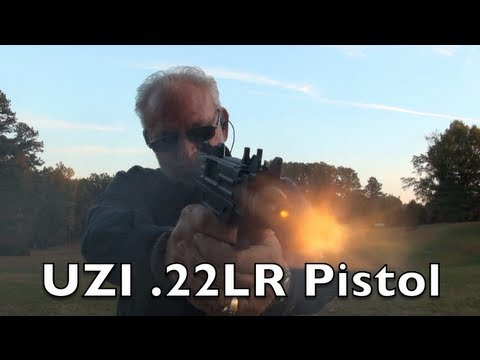 New UZI .22LR Pistol Shooting