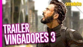 NOVO TRAILER DE VINGADORES 3?