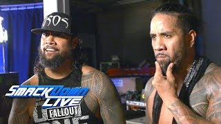 Actions speak louder than words for The Usos: SmackDown LIVE Fallout, Aug. 15, 2017