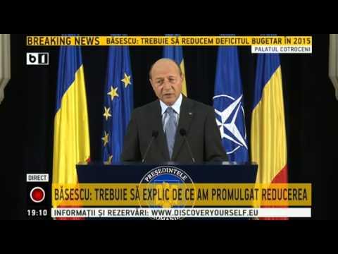 Traian Basescu   Am aprobat reducerea CAS cu 5%