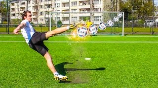 ULTIMATIVE VOLLEY FUßBALL CHALLENGE!!
