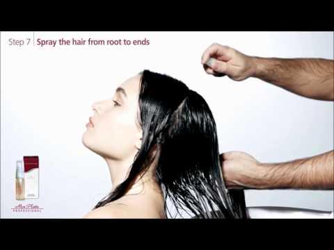 Как использовать Лечебную ампулу Hair Guardian Treatment Ampoule Mon Platin Professional