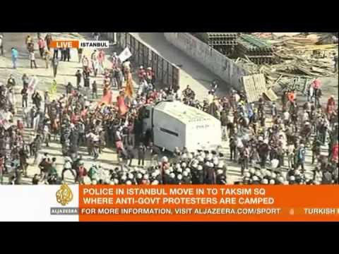 Turkish police re-enter Istanbul's Gezi Park