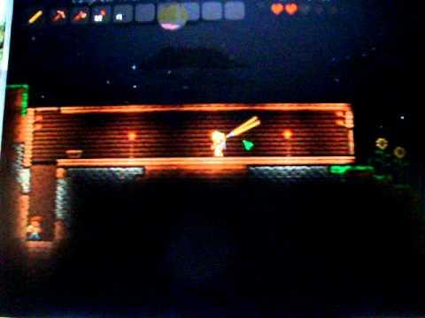 Как сделать световой меч в terraria