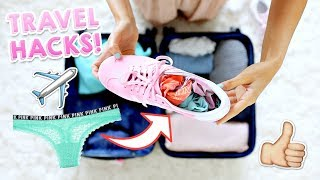 25 Travel Hacks You NEED to Know! | Aspyn Ovard