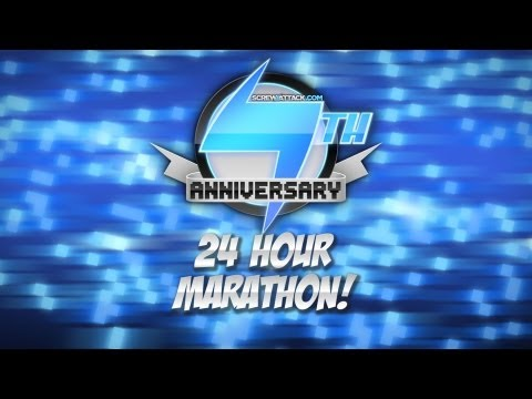 ScrewAttack 24 Hour 7th Birthday Live Stream Spectacular!