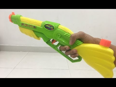 Water blaster Lever Action Shotgun   Work So Real Water Toy Gun   1st Time To See