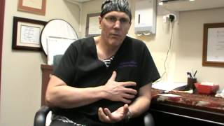 Dr. Les Blackstock talks about the benefits of having an implants above the muscles