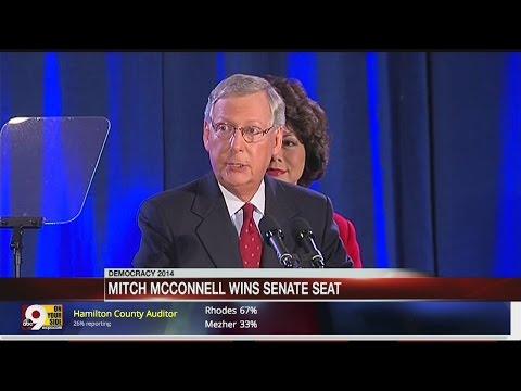 Mitch McConnell wins Senate seat, Alison Lundergan Grimes concedes