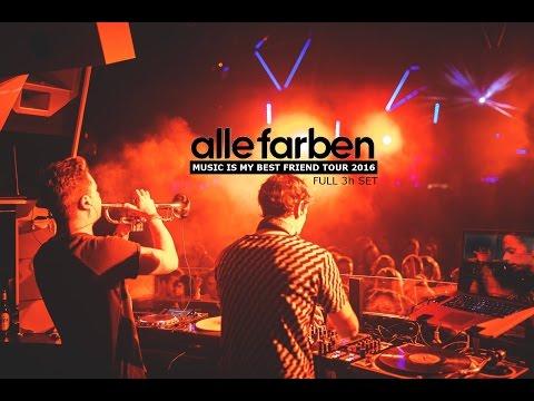 ALLE FARBEN [FULL 3h SET] - Music Is My Best Friend Tour 2016 @Bootshaus