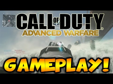Call of Duty: Advanced Warfare Multiplayer Gameplay - First Look At COD Advanced Warfare Multiplayer