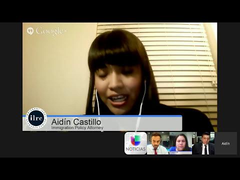 Google Hangout - Acción Ejecutiva y sus efectos en los hispanos