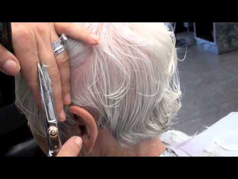 Haircut Short Layers 90 Degree Youtube