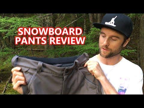 Snowboard Pants Best Features - Volcom Pants Review