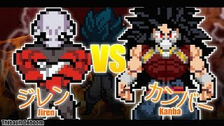 [sprite animation] Jiren VS Kanba