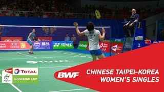 G1 | WS | TAI Tzu Ying (TPE) vs SE Young An (KOR) | BWF 2019