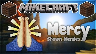 ♪ [FULL SONG] MINECRAFT Mercy by Shawn Mendes in Note Blocks (Wireless) ♪