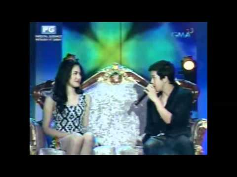 Party Pilipinas (OVERHEAT) - Moving Closer (Julie Anne &amp; Elmo) 2012.03