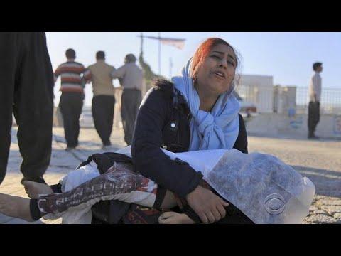 More than 400 killed in earthquake near Iran-Iraq border