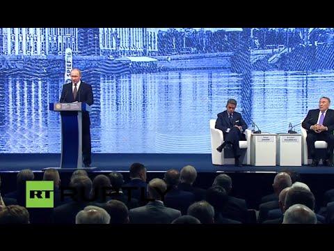 LIVE: Second Day of Saint Petersburg International Economic Forum (SPIEF)