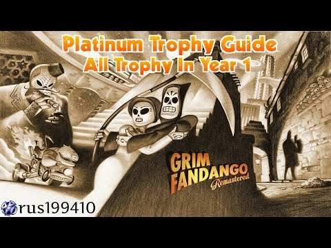 Grim Fandango Remastered - All Trophy In Year 1 (Platinum Trophy Guide) rus199410 [PS4/PS VITA]