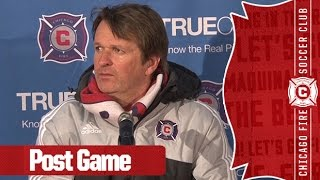 video Chicago Fire Head Coach Frank Yallop comments on the team's 1-0 victory over the Philadelphia Union. Want to see more from the Chicago Fire? Subscribe to our channel at ...